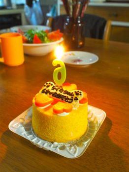 ライカ6歳ケーキ5.jpg